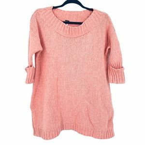 Free People Sweater Wide Neck Size XS Peach Pink